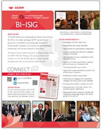 CLICK Image to View/Print BI-ISIG Brochure