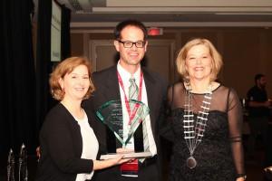Brad Kurowski, Winner of the Deborah Wilkerson Early Career Award