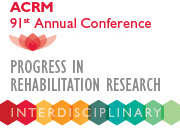 image: ACRM Progress in Rehabilitation Research email signature