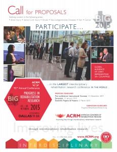 ACRM 2015 Call for Proposals Flyer