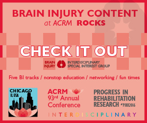 Click to see all conference content related to brain injury