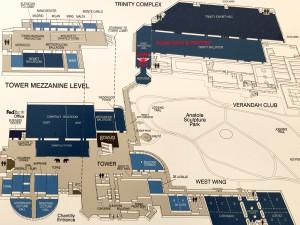 ACRM Annual Conference Hilton Anatole Map