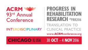 Front of 2016 ACRM Annual Conference Promo Business Card