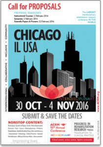 2016 ACRM Call for Proposals