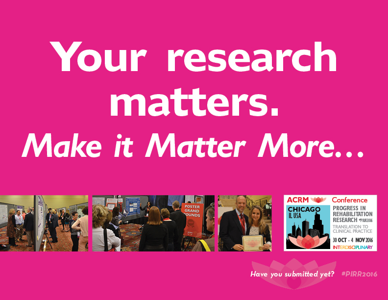 Your research matters. Make it Matter More…