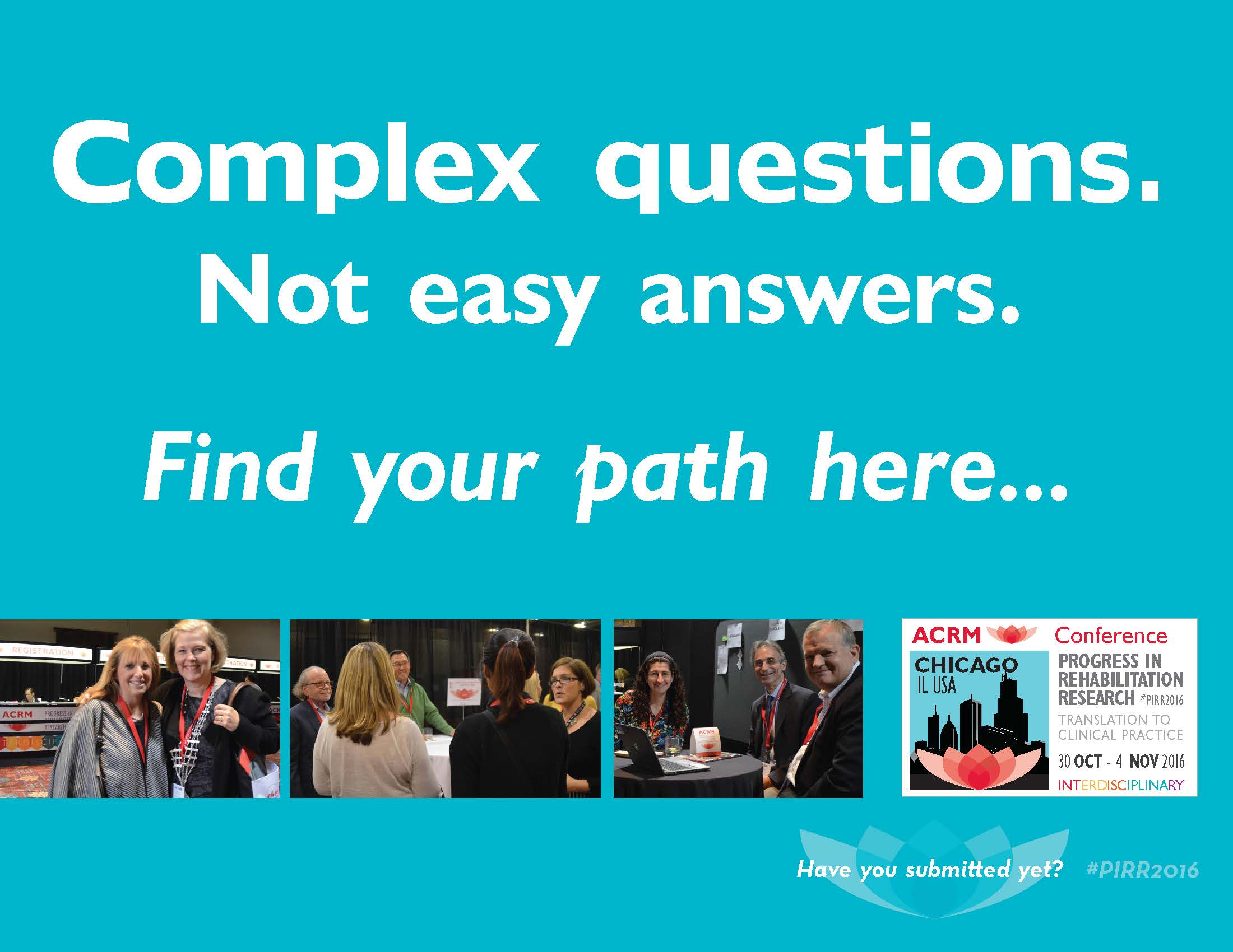 Complex questions. Not easy answers. Find your path here...