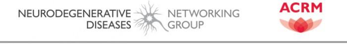 ACRM Neurodegenerative Diseases Networking Group