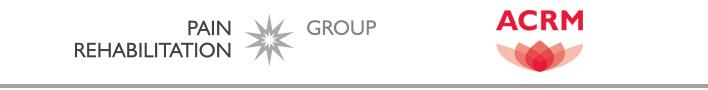 ACRM Pain Rehabilitation Group banner