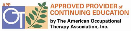 AOTA Approved Provider CE logo