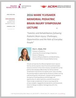 CLICK to View Ylvisaker Symposium Flyer
