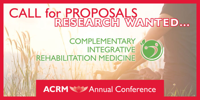 ACRM Annual Conference Call for Proposal