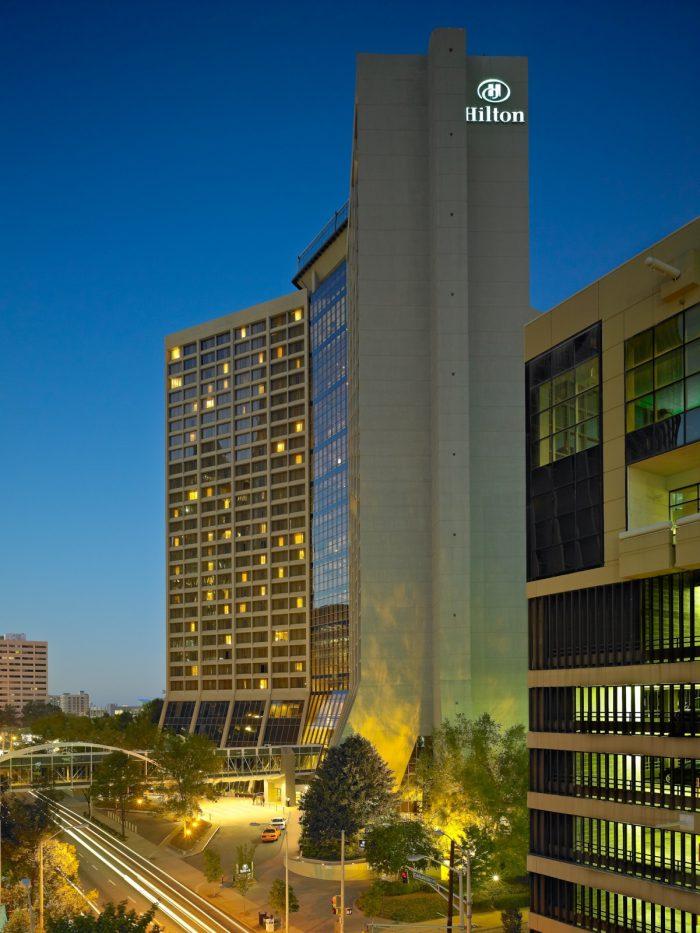 Hilton Atlanta Exterior