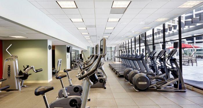 Hilton Atlanta gym