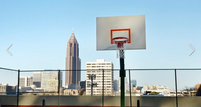 Rooftop Basketball