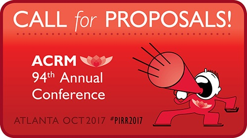 ACRM 94th Annual Conference Call for Proposals