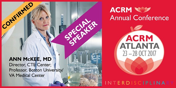 Special Symposium Speaker Ann McKee
