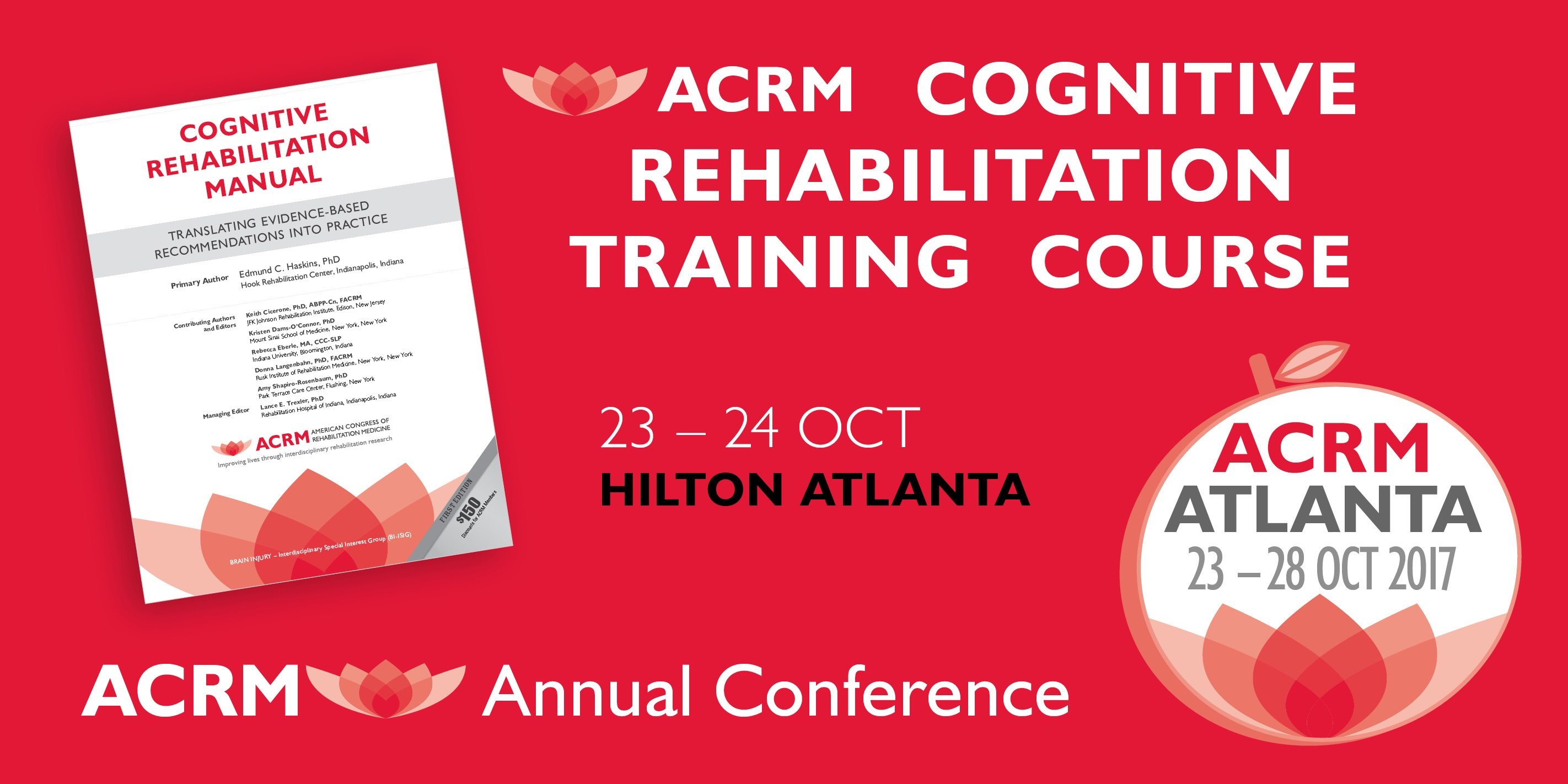 CLICK to Learn More about Cognitive Rehabilitation Training coming to Atlanta, GA