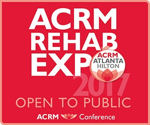 ACRM Rehab EXPO Open to the Public