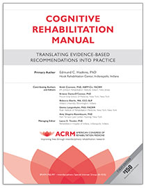 Image of Cognitive Rehabilitation Manual Cover