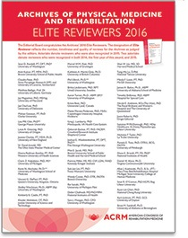 2016 Archives Elite Reviewers