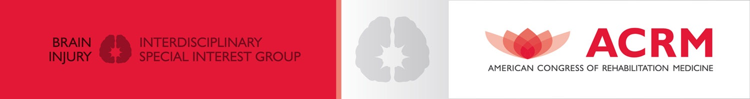 ACRM Brain Injury Interdisciplinary Special Interest Group (BI-ISIG) banner
