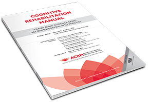 Cognitive Rehabilitation Manual Cover