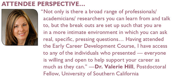 Early Career Development Course Testimonial by Valerie Hill
