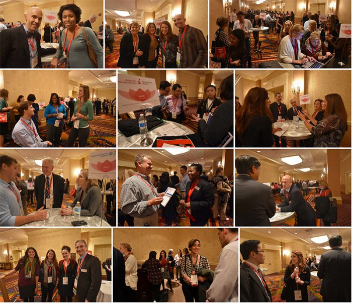 Meeting & mentoring is nonstop at ACRM