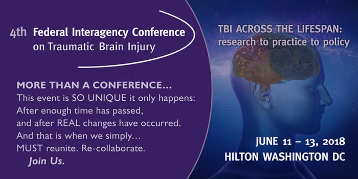 4th Federal Interagency Conference on TBI