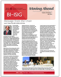 Cover image: BI-ISIG Moving Ahead newsletter