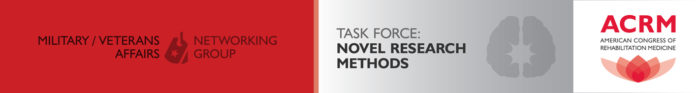 Military / Veterans Affairs Novel Research Methods Task Force header 1422x189