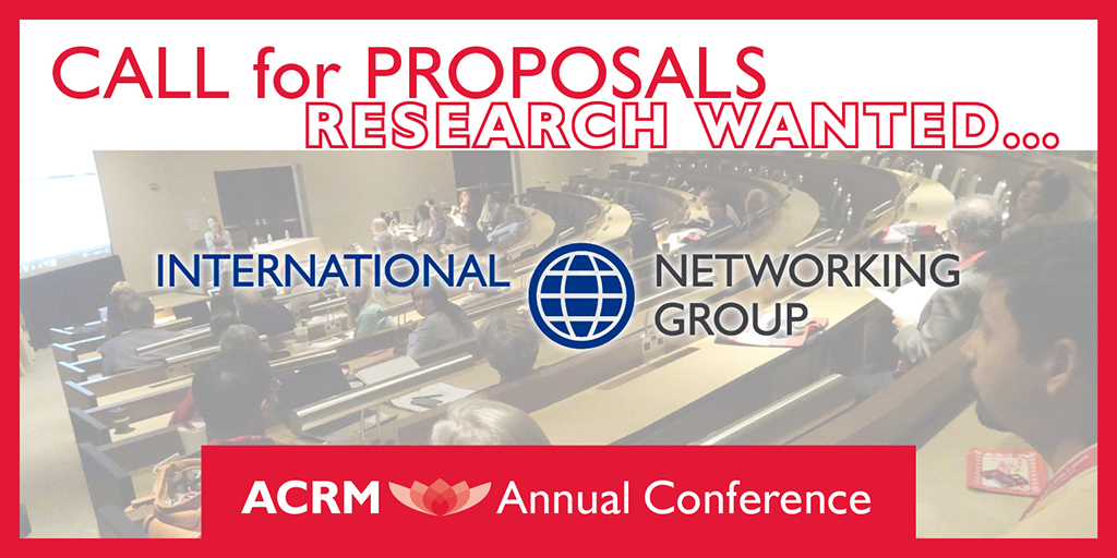 Call for Proposals International Networking Group