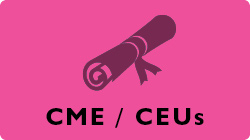 Links to information about CME and CEU credits.