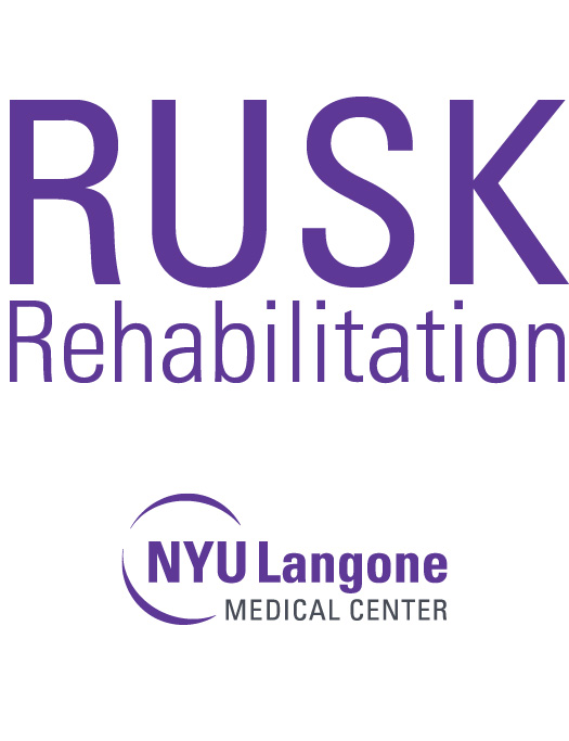 image: Sponsor Rusk Rehabilitation at NYU Langone Medical Center logo