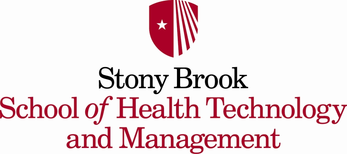 image: Stony Brook School of Health Technology & Management logo