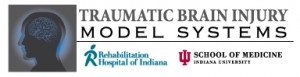 logo: Traumatic Brain Injury Model Systems / Rehabilitation Hospital of Indiana/ Indiana University