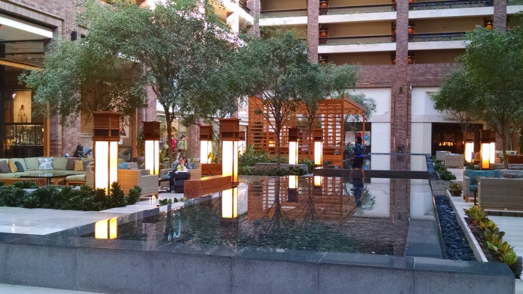 Hilton Anatole Reflecting Pool