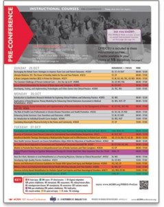 Pre-Conference Instructional Courses
