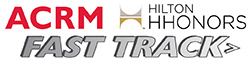 Click to Learn About the ACRM / Hilton Honors Fast Track to Gold Program