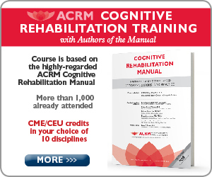 Cognitive Rehabilitation Training