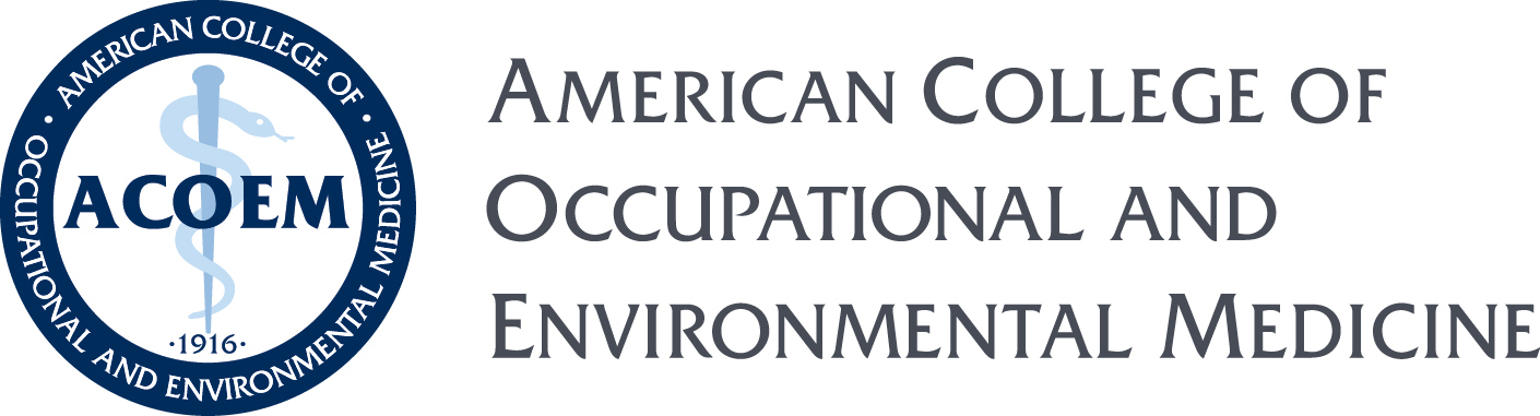American College of Occupational and Environmental Medicine logo