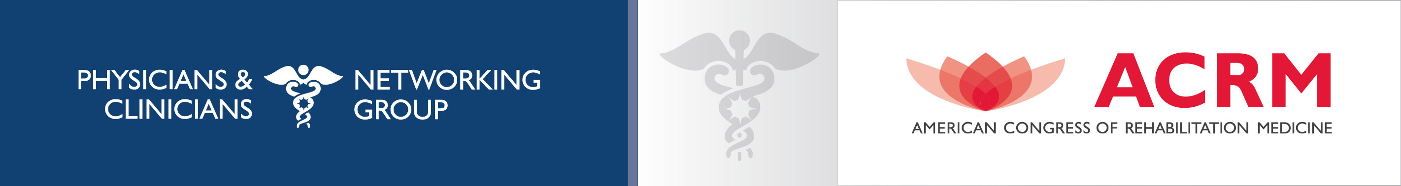 ACRM Physicians & Clinicians Networking Group banner