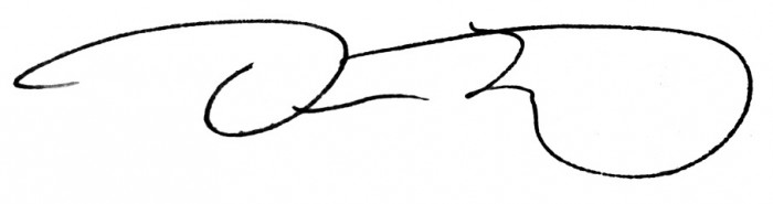 Douglas Katz signature
