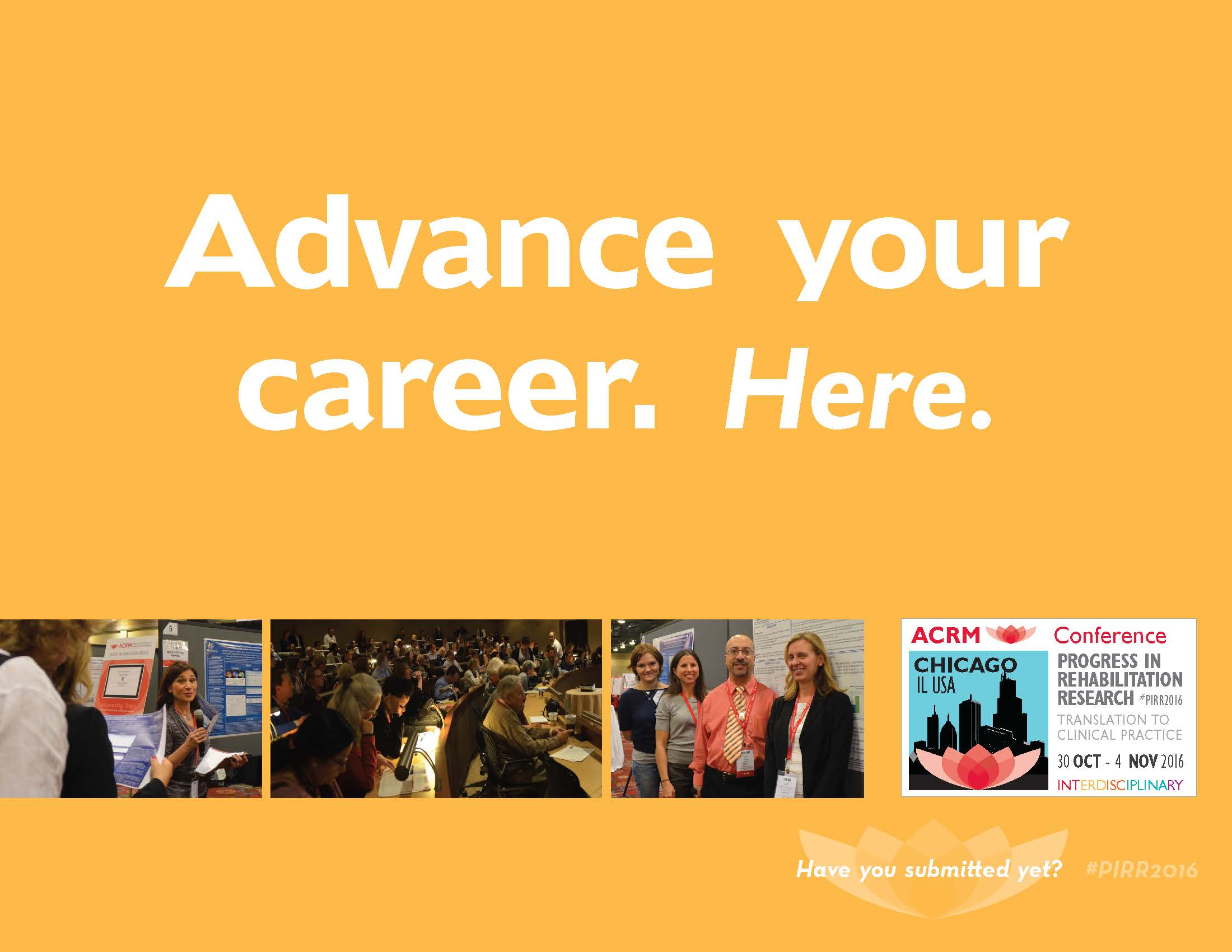 Advance your career. Here.