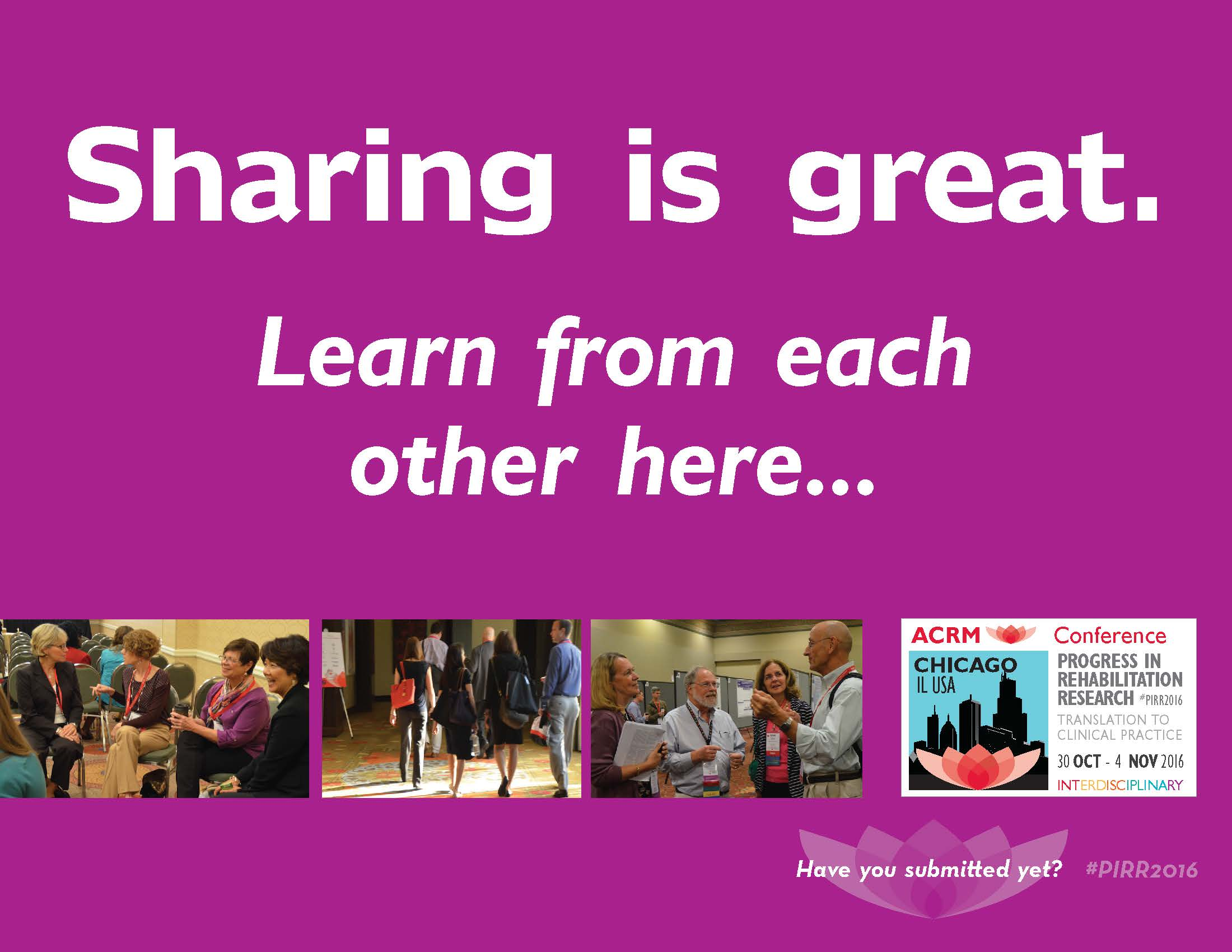 Sharing is great. Learn from each other here...