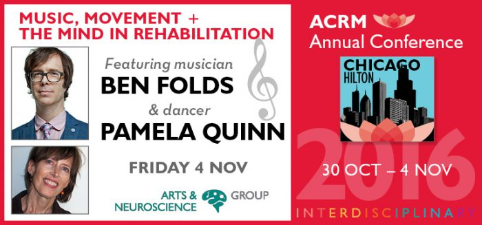 Music, Movement + the Mind in Rehabilitation #PIRR2016