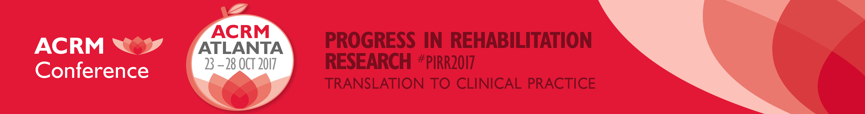 ACRM Conference: Progress in Rehabilitation Research #PIRR2017