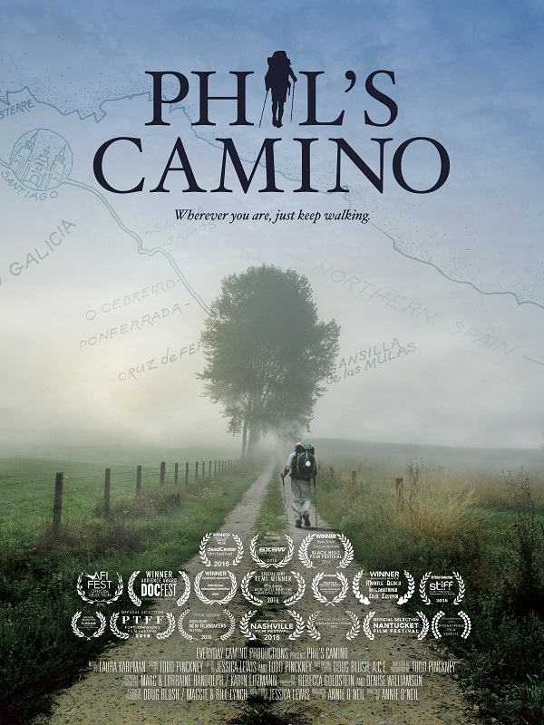 Phil's Camino Documentary Poster
