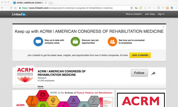 Keep up with ACRM on LinkedIn