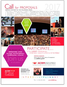 ACRM Annual Conference Call for Proposals Flyer